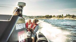 For dere som ønsker litt mer fart og spenning på ferie her i Kragerø, vil jeg anbefale dere å ta kontakt med Kragerø Rib.